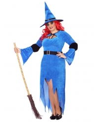Disfraz bruja del norte mujer talla grande