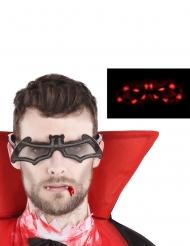 Gafas luminosas de murciélago adulto