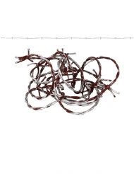 Guirlanda de púas con sangre 270 cm