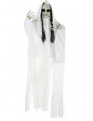 Decoración para colgar muñeca fantasma luminosa 100 x 70 cm