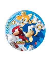 8 Platos de cartón Sonic™ 23 cm