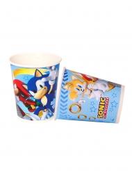 8 Vasos de cartón Sonic™ 220 ml