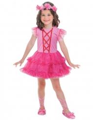 Disfraz bailarina rosa niña