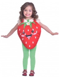 Disfraz fresa dulce niña