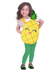 Disfraz de piña dulce niña