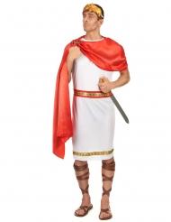 Disfraz romano con corona hombre talla grande