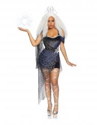 Disfraz de lujo reina de la luna mujer