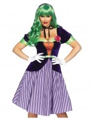 Disfraz de lujo babydoll de comic mujer