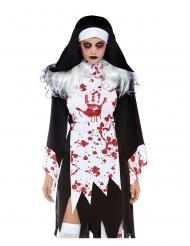 Disfraz monja asesina mujer