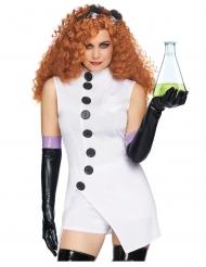 Disfraz lujo científico psyco sexy mujer