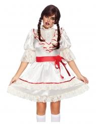 Disfraz de lujo muñeca encantada mujer