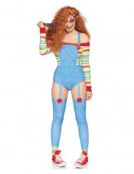 Disfraz lujo muñeca asesina mujer