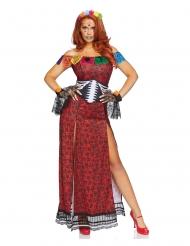 Disfraz lujo Día de los muertos mujer