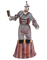 Disfraz payaso de circo terrorífico adulto