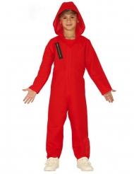 Disfraz mono rojo ladrón niño