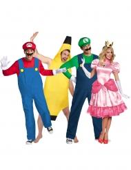Disfraz de grupo Mario™ y sus amigos adulto