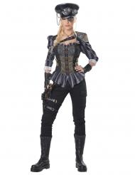 Disfraz capitán Steampunk mujer