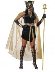 Disfraz diosa felina de Egipto mujer