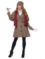 Disfraz detective mujer