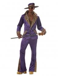 Disfraz de chulo años 70 hombre