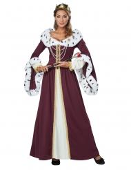 Disfraz reina de cuentos de hadas mujer