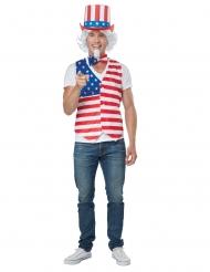 Disfraz hombre patriota americano