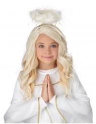 Peluca ángel niña