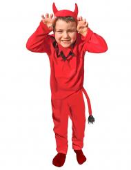 Disfraz diablo clásico niño