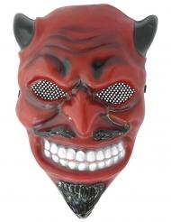 Máscara de diablo adulto