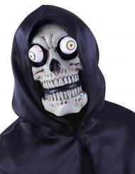 Máscara esqueleto con ojos desorbitados adulto