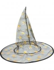 Sombrero de bruja con araña para niño