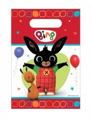 8 Bolsas de fiesta de plástico Bing™
