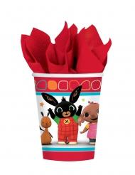 8 Vasos de cartón Bing™ 266 ml