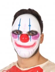 Máscara payaso sonrisa terrorífica adulto