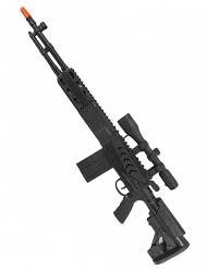 Metralleta larga negra niño 71 cm