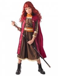 Disfraz Princesa bordeos del norte niña