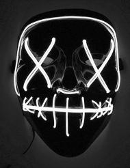 Máscara LED luz blanca adulto