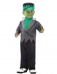 Disfraz monstruo artificial verde bebé
