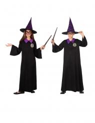 Disfraz brujo colegial niño