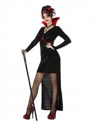 Disfraz vampiresa gótica sexy mujer