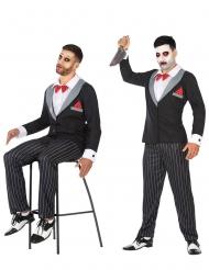 Disfraz de marioneta ventríluco hombre