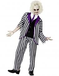 Disfraz de exorcista excéntrico zombie hombre