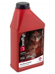 Botella de sangre roja falsa 473 ml
