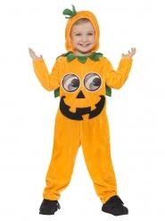 Disfraz de calabaza graciosa niño