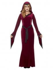 Disfraz medieval vampira mujer