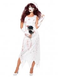 Disfraz novia asesina mujer