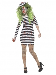 Disfraz prisionero zombie mujer