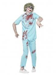 Disfraz dentista zombie hombre