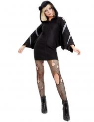 Disfraz murciélago chaqueta mujer