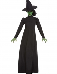 Disfraz bruja negra para mujer